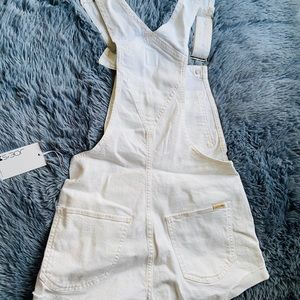 Other - New Joe's White Nicky Overalls Small